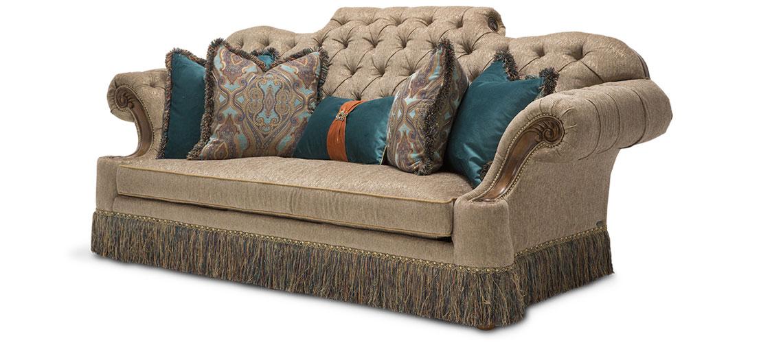 Grand Masterpiece Mansion Sofa Opt 1 Royal Sienna